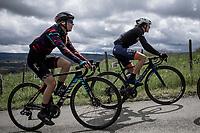 Hannah Barnes (GBR/Canyon Sram Racing) up the Col de La Redoute.<br /> <br /> 3th Liège-Bastogne-Liège-Femmes 2019 (1.WWT)<br /> 1 Day Race: Bastogne – Liège 138,5km<br /> <br /> ©kramon