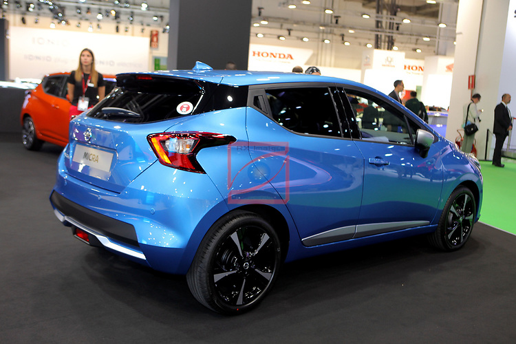 Automobile Barcelona 2017.<br /> Stand Nissan.