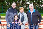 Liam McSweeney, Erinn Sullivan, Sheila and Owen McSweeney at the Miriam Joy family funday inAn Riocht Castleisland on Sunday