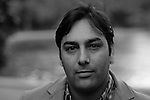 Writer Basharat Peer is seen in Central Park in New York City on May 19, 2008.