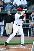 June 16th 2008:  Andrew Lambo of the Great Lakes Loons, Class-A affiliate of the Los Angeles Dodgers, during the Midwest League All-Star Home Run Derby at Dow Diamond in Midland, MI.  Photo by:  Mike Janes/Four Seam Images