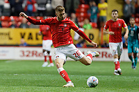 Sam Field of Charlton Athletic in acion during the Sky Bet Championship match between Charlton Athletic and Swansea City at The Valley, London, England, UK. Wednesday 02 October 2019
