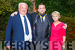 Shane Barry from Castlegregory, (Pharmaceutical Science with Bio Phamrmaceutical Ord Level) with his parents Pat and Bridgella Barry who received his degree at the Graduation Ceremony from the I T Tralee in the Brandon Hotel on Friday.