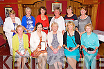 Ballybeggan Golf Society Lady Captain's Prize winners at the Meadowlands Hotel on Saturday. Pictured Front row left to right, Maureen Tiplady, Karen Tess, Mona Coote, Captain, Catherine Mitchell, Maureen Scannell.  Back row left to right, Rebecca McCarthy, Claire O'Dwyer, Margaret Lawlor, Kathleen Burrows, President, Letitia O'Driscoll, Mary Quillinan, Vice Captain