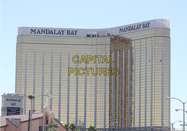 02 October 2017 - Las Vegas, NV -  Mandalay Bay.  Mandalay Bay Resort Las Vegas. <br /> CAP/ADM/MJT<br /> &copy; MJT/ADM/Capital Pictures