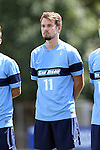 28 August 2016: San Diego's Freddy Polzer. The Elon University Phoenix played the University of San Diego Toreros at Koskinen Stadium in Durham, North Carolina in a 2016 NCAA Division I Men's Soccer match. USD won the game 2-1.
