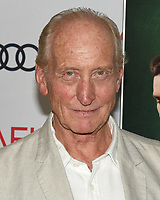 """16 November 2019 - Hollywood, California - Charles Dance. AFI FEST 2019 Presented By Audi – """"The Crown"""" Premiere held at TCL Chinese Theatre. Photo Credit: Billy Bennight/AdMedia"""