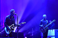 LONDON, ENGLAND - MAY 9 : Noel Gallagher and Gem Archer of 'Noel Gallagher's High Flying Birds' performing at The Palladium on May 9, 2019 in London, England.<br /> CAP/MAR<br /> &copy;MAR/Capital Pictures