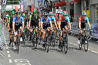 The start of the race during the Abergavenny Festival of Cycling &quot;Grand Prix of Wales&quot; race on Sunday 17th 2016<br /> <br /> <br /> Jeff Thomas Photography -  www.jaypics.photoshelter.com - <br /> e-mail swansea1001@hotmail.co.uk -<br /> Mob: 07837 386244 -