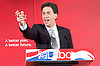 Labour Party Education manifesto launch at Microsoft, London, Great Britain <br /> 9th April 2015 <br /> <br />  General Election Campaign 2015 <br /> <br /> Ed Miliband <br /> Leader of the Labour Party <br /> <br /> <br /> <br /> Photograph by Elliott Franks <br /> Image licensed to Elliott Franks Photography Services