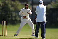 An Appeal by P Gupta of Barking during Newham CC vs Barking CC, Essex County League Cricket at Flanders Playing Fields on 10th June 2017