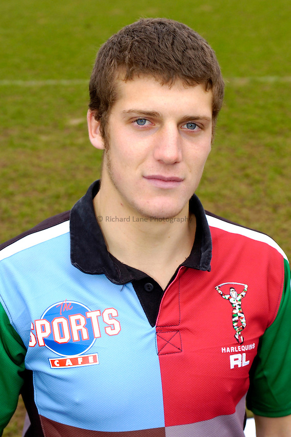 Photo: Richard Lane..Harlequins RL Press Season Media Day. 30/01/2006..Tony Clubb.