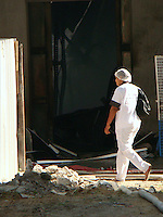 RIO DE JANEIRO, RJ 05 DE JULHO 2012 - INCÊNDIO NO HOSPITAL UNIVERSITÁRIO PEDRO ERNESTO DA UERJ. <br /> Nesta manhã de quarta feira (05), aconteceu um incêndio na ala do almoxarifado do Hospital Universitário Pedro Ernesto da UERJ ( Universidade do Estado do Rio de Janeiro) situado na Rua 28 de Setembro no bairro de Vila Isabel, zona norte do Rio. <br /> FOTO RONALDO BRANDÃO/BRAZIL PHOTO PRESS