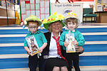 Redrow Homes visit to Ysgol Griffth Jones in St Clears.<br /> <br /> 11.04.14<br /> <br /> &copy;Steve Pope-FOTOWALES