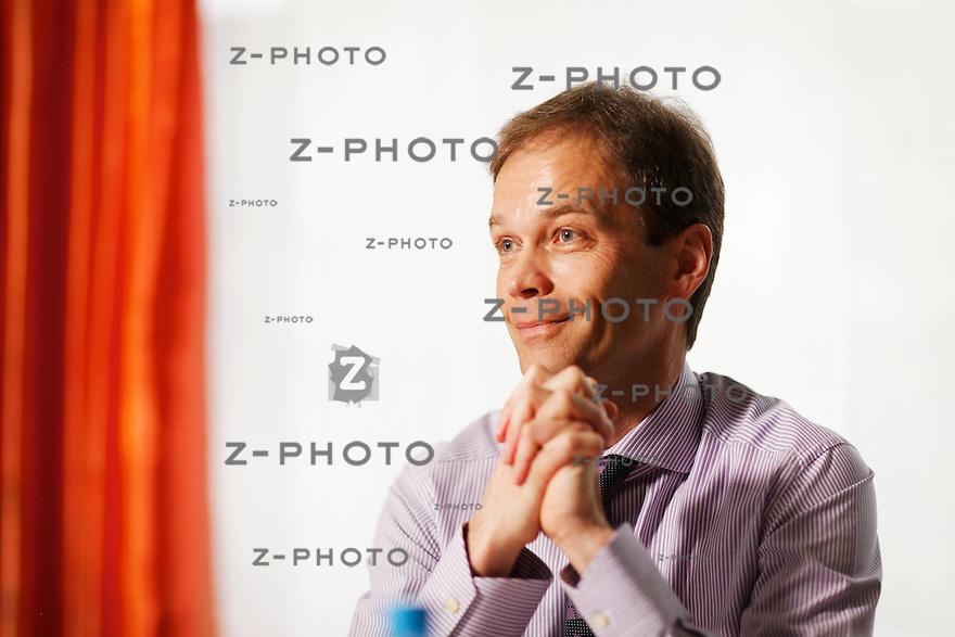 Interview mit Martin Scholl CEO ZKB im Hauptsitz an der Bahnhofstrasse 9 in Zuerich am 4. April 2011..Copyright © Zvonimir Pisonic