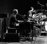 Todd Caldwell - organ and Steve DiStanislao - drums, with Crosby, Stills & Nash at Max-Schmeling-Halle, Berlin, Germany.