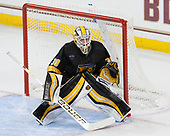 Derek Shatzer (CC - 30) - The Boston College Eagles defeated the visiting Colorado College Tigers 4-1 on Friday, October 21, 2016, at Kelley Rink in Conte Forum in Chestnut Hill, Massachusetts.The Boston College Eagles defeated the visiting Colorado College Tiger 4-1 on Friday, October 21, 2016, at Kelley Rink in Conte Forum in Chestnut Hill, Massachusett.