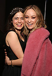 """Molly Gordon and Olivia Wilde attends the opening night performance after party for the MCC Theater's 'Alice By Heart' at Kenneth Cole's """"The Garage"""" on February 26, 2019 in New York City."""