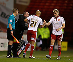 Alex Baptiste of Sheffield Utd makes his debut replacing James McEveley of Sheffield Utd - English League One - Sheffield Utd vs Burton Albion - Bramall Lane Stadium - Sheffield - England - 1st March 2016 - Pic Simon Bellis/Sportimage