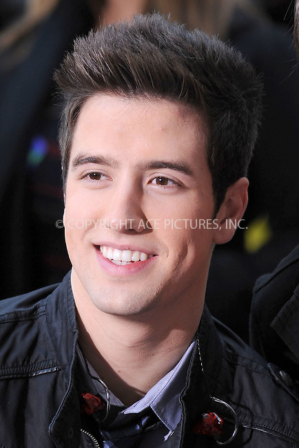WWW.ACEPIXS.COM . . . . . .October 11, 2010, New York City....Logan Henderson of Nickelodeon's Big Time Rush performs on the Today Show at Rockefeller Center on October 11, 2010 in New York City....Please byline: KRISTIN CALLAHAN - ACEPIXS.COM.. . . . . . ..Ace Pictures, Inc: ..tel: (212) 243 8787 or (646) 769 0430..e-mail: info@acepixs.com..web: http://www.acepixs.com .