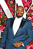 Brandon Victor Dixon arrives at The 72nd Annual Tony Awards on June 10, 2018 at Radio City Music Hall in New York, New York, USA. <br /> <br /> photo by Robin Platzer/Twin Images<br />  <br /> phone number 212-935-0770