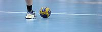 EHF Champions League Handball Damen / Frauen / Women - HC Leipzig HCL : SD Itxako Estella (spain) - Arena Leipzig - Gruppenphase Champions League - im Bild: Feature Handball Ball Spielball. Foto: Norman Rembarz .