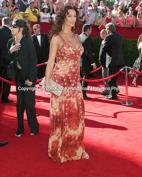 Sofia Milos.58th Primetime Emmy Awards.Shrine Auditorium.Los Angeles, CA.August 27, 2006.©2006 Kathy Hutchins / Hutchins Photo....                 i