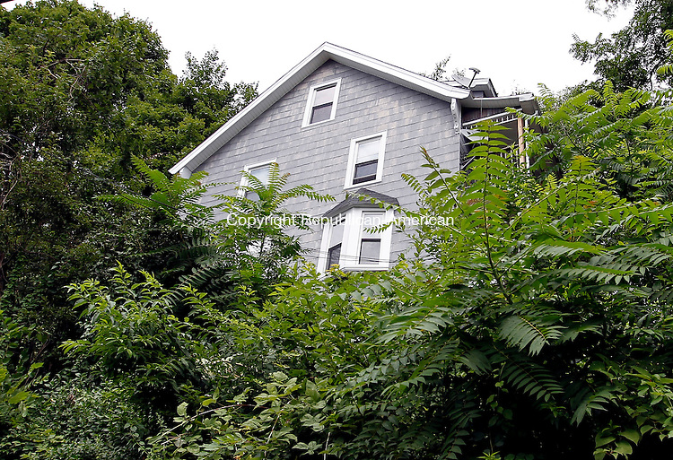 Naugatuck, CT-27 July 2012-072712CM01-  The three-family home located at 396 South Main Street in Naugatuck received a lead remediation grant through the Naugatuck Valley Health District. The home, which was built in 1885 recently had tests performed 2 years ago, which revealed lead paint on the exterior.  The grant paid approximately 13,000 to cover the remediation process.     Christopher Massa Republican-American