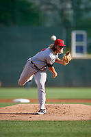 Richmond Flying Squirrels starting pitcher Shaun Anderson (32) delivers a pitch during a game against the Altoona Curve on May 15, 2018 at Peoples Natural Gas Field in Altoona, Pennsylvania.  Altoona defeated Richmond 5-1.  (Mike Janes/Four Seam Images)