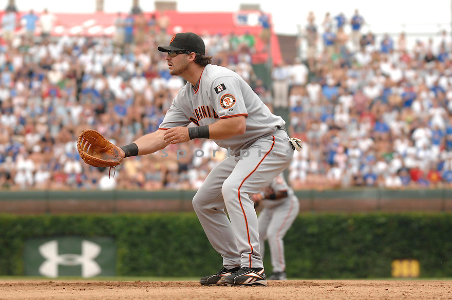 RYAN KLESKO, of the San Francisco Giants, in action during the Giants game against the Chicago Cubs  in Chicago, IL  on July 18,  2007...Cubs win 12-1...DAVID DUROCHIK / SPORTPICS.