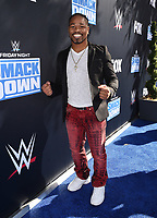 """LOS ANGELES - OCTOBER 4: Shawn Porter attends the kick-off event for the """"WWE Friday Night Smackdown on FOX"""" at Staples Center on October 4, 2019 in Los Angeles, California. (Photo by Frank Micelotta/Fox Sports/PictureGroup)"""