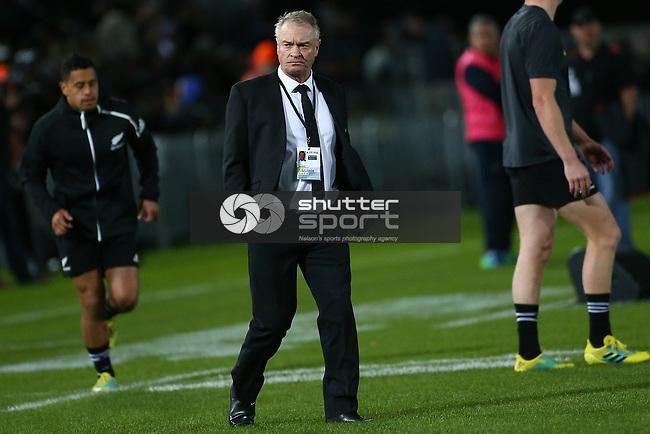 NELSON, NEW ZEALAND - SEPTEMBER 8: All Blacks v Argentina Trafalgar Park on September 8 2018 in Nelson, New Zealand. (Photo by:  Shuttersport Limited)