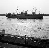Juni 1961. Schip Izalco.