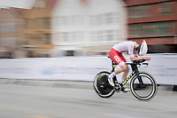 Damian Papierski (POL)<br /> <br /> Men Junior Individual Time Trial<br /> <br /> UCI 2017 Road World Championships - Bergen/Norway