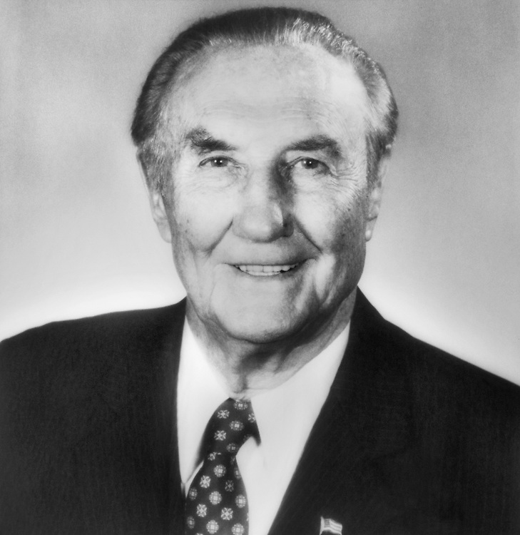Sen. James Strom Thurmond, R-S.C. 1989 (Photo by CQ Roll Call)