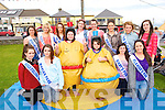 Enjoying the Ballyheigue Summer Festival week on Monday. Pictured Front left to right, Emma Stritch, Cathy Cashman, Erica Moriarty, Katie Ellen Reidy, Rebecca Casey, Teresa Leen.  Back left to right, Emma O'Gorman, Emma O'Connor, Megan Cotter, Shauna Crowe, Louise Ryan, Annie Galway, Cliona Hussey, Megan Sheehy