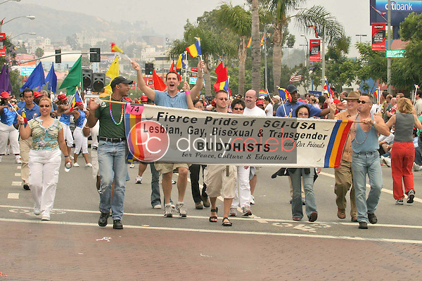 Parade atmosphere