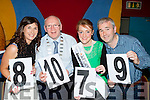 The judges at the Castleisland Strictly Come Dancing in the River Island Hotel on Friday night Mary philpott, John Brassil Kerry mayor, Julett Culloty Kerry rose and Donal Barry