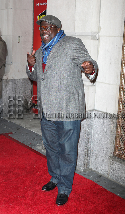 Cedric The Entertainer.attending the Broadway Opening Night Performance of  'Ghetto Klown'  at the Lyceum Theatre in New York City.