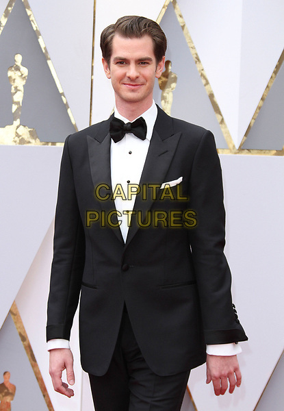 26 February 2017 - Hollywood, California - Andrew Garfield. 89th Annual Academy Awards presented by the Academy of Motion Picture Arts and Sciences held at Hollywood &amp; Highland Center. <br /> CAP/ADM<br /> &copy;ADM/Capital Pictures