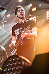 Luke Hemmings of 5 Seconds Of Summer performs onstage during 103.5 KISS FM's Jingle Ball 2015 presented by Capital One at Allstate Arena in Chicago, Illinois.