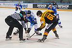 15.04.2018, EnergieVerbund Arena, Dresden, GER, Euro Hockey Challenge, Deutschland vs. Slowakei, im Bild<br /> <br /> <br /> Eduard Simun (#92, Slowakei), Mirko Hofflin (#61, Deutschland),<br /> <br /> Foto &copy; nordphoto / Dostmann