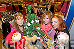 HELPING OTHERS: Kerrie-Anne, Hazel and Elaine Mooney pictured in Dunnes Stores, Tralee, with their Christmas charity tree for St Vincent de Paul.   Copyright Kerry's Eye 2008