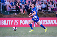 Boston, MA - Saturday April 29, 2017: Natasha Dowie during a regular season National Women's Soccer League (NWSL) match between the Boston Breakers and Seattle Reign FC at Jordan Field.