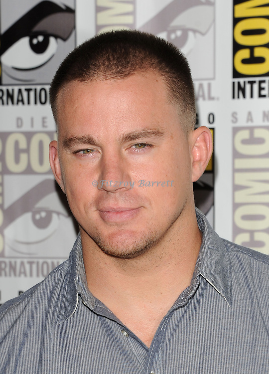 Channing Tatum arriving at the The Book Of Life Panel at Comic-Con 2014  at the Hilton Bayfront Hotel in San Diego, Ca. July 25, 2014.