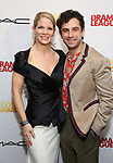 Kelli O'Hara and Brandon Uranowitz attends the 85th Annual Drama League Awards at the Marriott Marquis Times Square on May 17, 2019 in New York City.