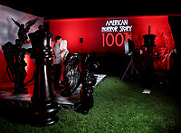 """LOS ANGELES - OCTOBER 26: Atmosphere during the red carpet event to celebrate 100 episodes of FX's """"American Horror Story"""" at Hollywood Forever Cemetery on October 26, 2019 in Los Angeles, California. (Photo by John Salangsang/FX/PictureGroup)"""