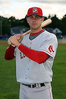 September 10 2008:  First round draft pick Casey Kelly of the Lowell Spinners, Class-A affiliate of the Boston Red Sox, during a game at Dwyer Stadium in Batavia, NY.  Photo by:  Mike Janes/Four Seam Images