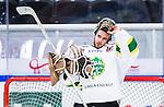 S&ouml;dert&auml;lje 2014-09-22 Ishockey Hockeyallsvenskan S&ouml;dert&auml;lje SK - IF Bj&ouml;rkl&ouml;ven :  <br /> Bj&ouml;rkl&ouml;vens m&aring;lvakt Kevin Lindskoug <br /> (Foto: Kenta J&ouml;nsson) Nyckelord: Axa Sports Center Hockey Ishockey S&ouml;dert&auml;lje SK SSK Bj&ouml;rkl&ouml;ven L&ouml;ven IFB portr&auml;tt portrait