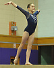 Mayah Siegel of Plainview JFK performs on the balance beam during a Nassau County varsity gymnastics meet against Massapequa at McKenna Elementary School on Monday, Feb. 1, 2016.